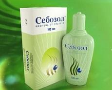 шампунь от перхоти - себозол