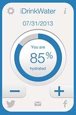 приложение пить воду