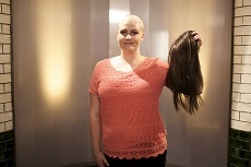фото андрогенной алопеции у женщины - парик