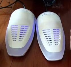 дезинфекция обуви от грибка: УФ-сушилка для обуви