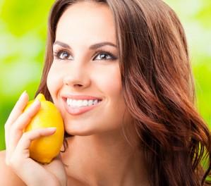 Маска с лимоном от прыщей для лица